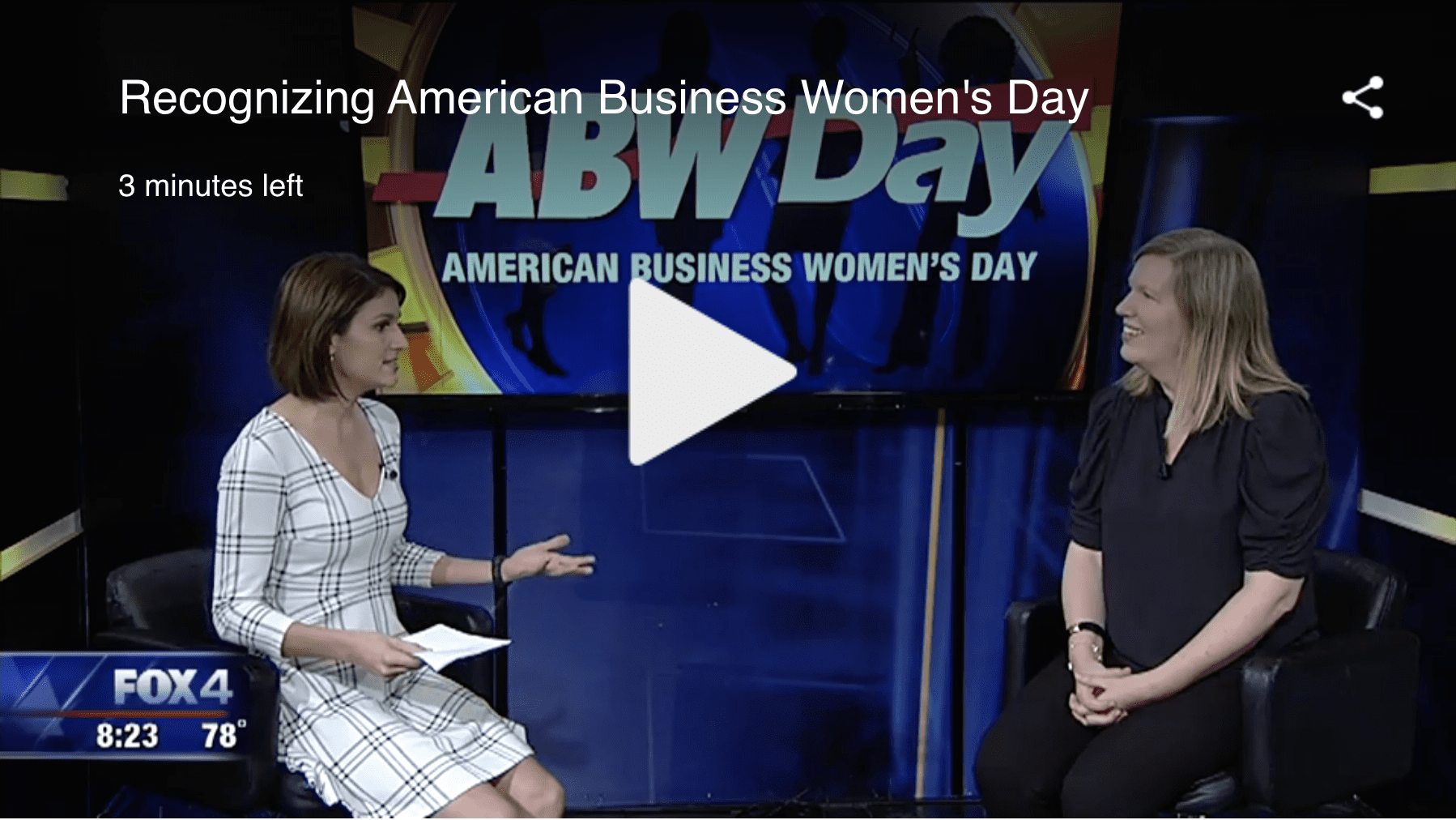 Recognizing American Business Women's Day | Fox 4 News