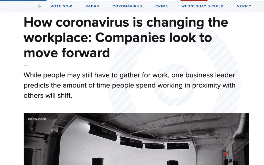 How coronavirus is changing the workplace | WFAA
