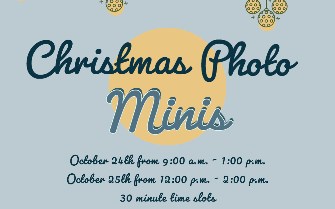 Christmas Minis at The Slate – October 24th and 25th