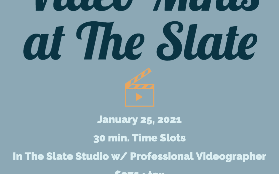 January Video Minis at The Slate