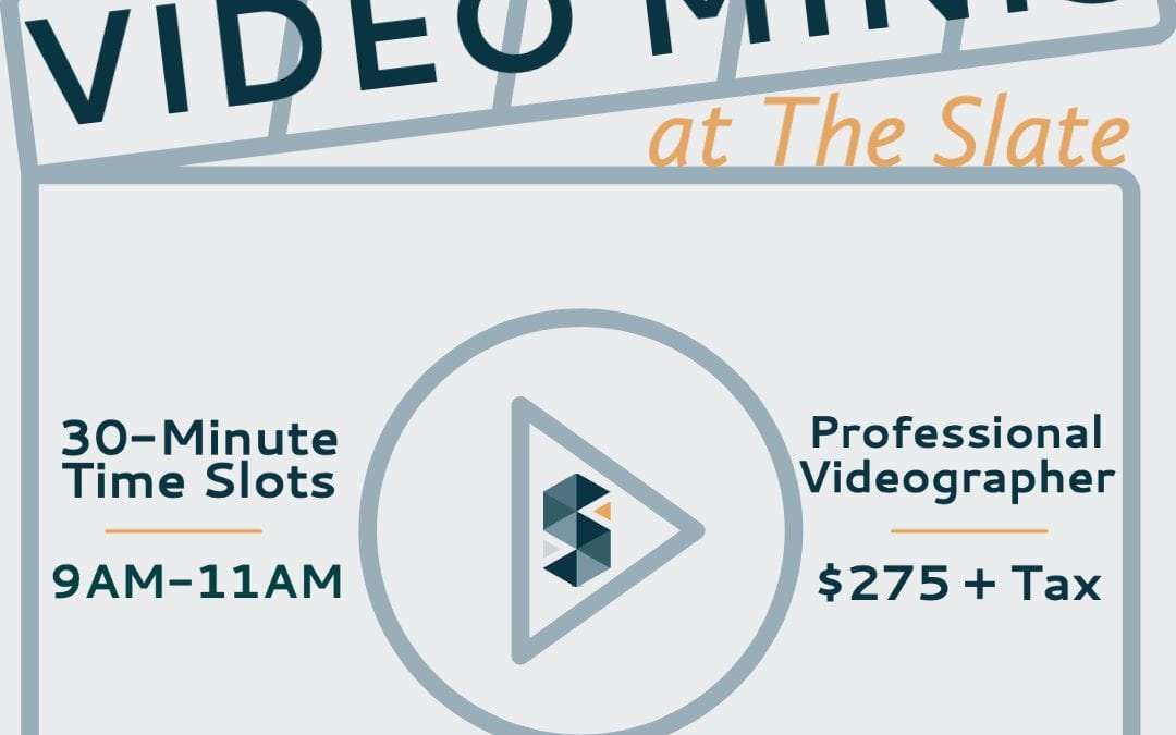 March Video Minis at The Slate