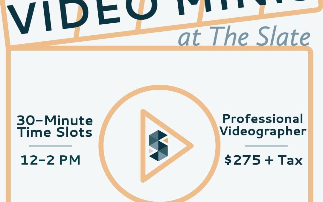 April Video Minis at The Slate